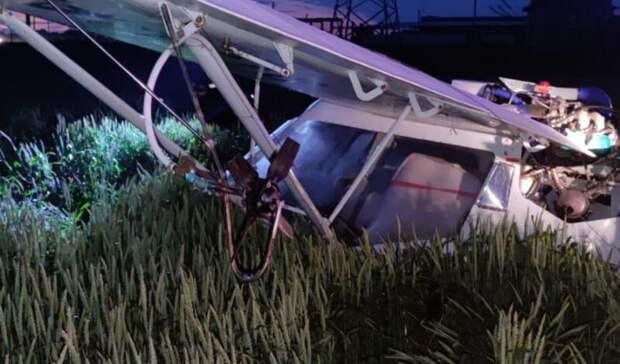 Один человек пострадал вовремя жесткой посадки самолета вРостовской области 9июня