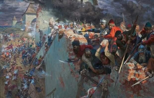 Если верить летописям, то в Новгороде в годы Смуты был предатель по имени Ивашко Шваль. |Фото: artstation.com.