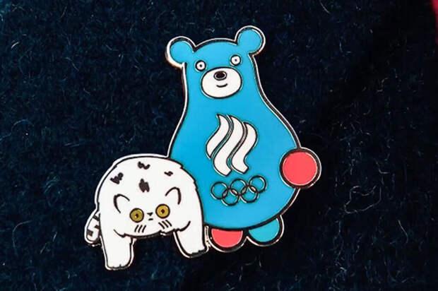 Олимпийскими талисманами сборной России стали медведь и кот