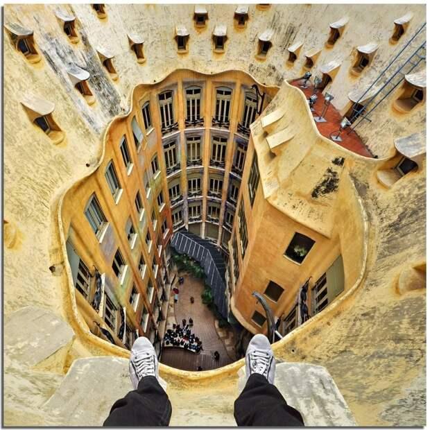 Под ногами, над головой: головокружительные здания Стефано Скарселли