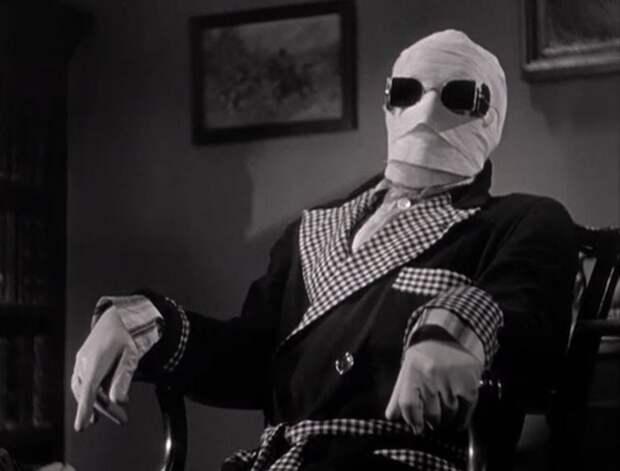 Кадр из фильма *Человек-невидимка*, 1933 | Фото: pobedpix.com