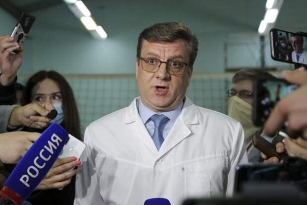СМИ: глава Минздрава Омской области найден живым
