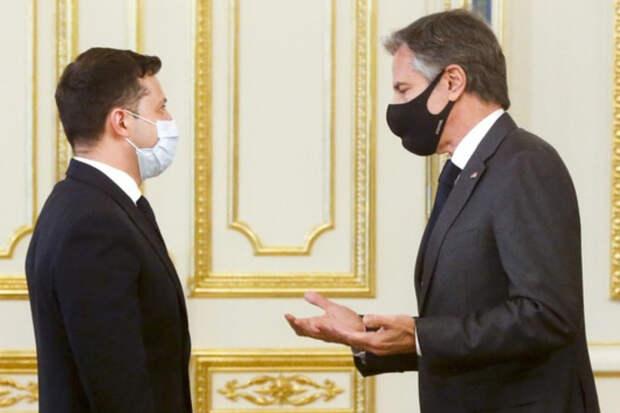 Госсекретарь США Блинкен посетил Украину с рабочим визитом