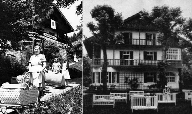 Приюты для рожениц из «Lebensborn». | Фото: messynessychic.com.