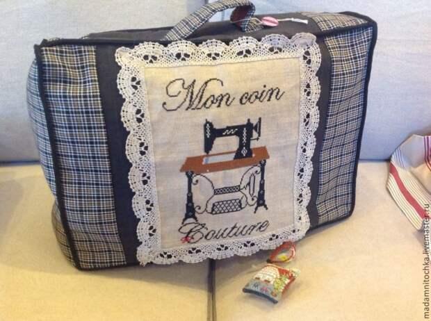 вышитых швейными машинками чехлов - для швейных машин