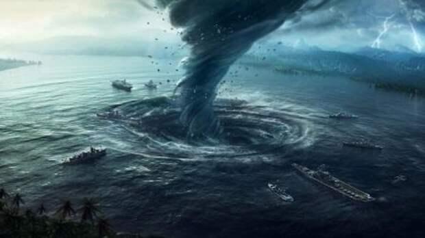 Шторм ожидается в акваториях Тихого океана и Берингова моря