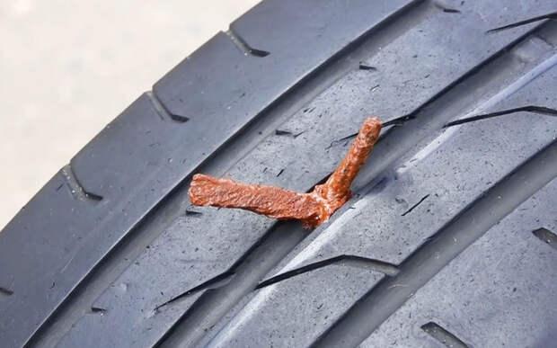 Ремонтируем прокол с помощью жгута — простая инструкция