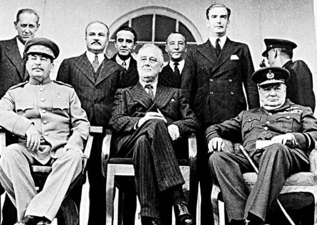 Как Сталин, Рузвельт и Черчилль планировали поступить с Германией после Победы