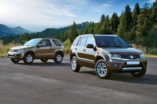 На российском рынке отзывают более 22 тыс. кроссоверов Suzuki Grand Vitara