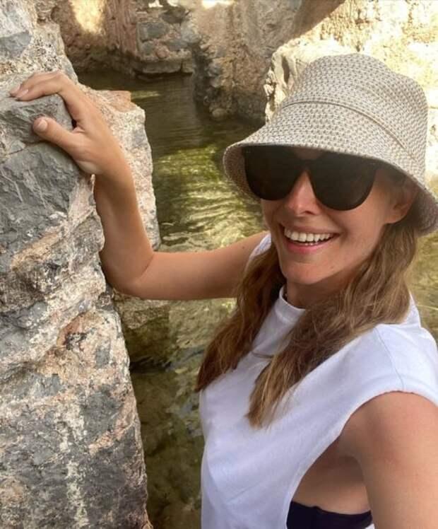Екатерина Осадчая посетила Ванны Клеопатры