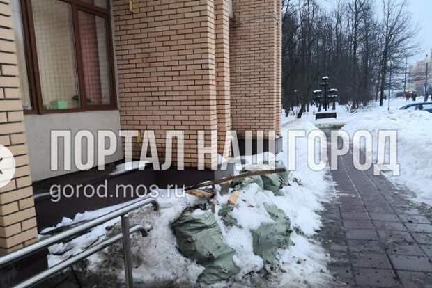 Гора мусора с улицы Соловьиная Роща убрана – Жилищник