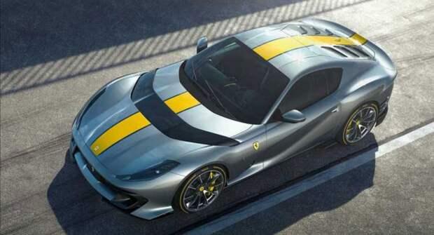 Ferrari представил спецсериюсуперкара 812 Competizione A с V12