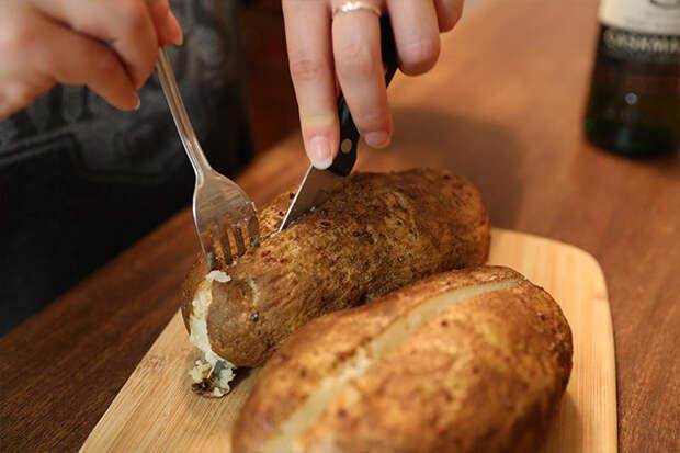 Потрясающий печеный картофель