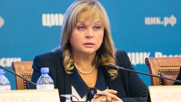 Памфилова заявила о существовании «пятой колонны» в избиркоме Петербурга