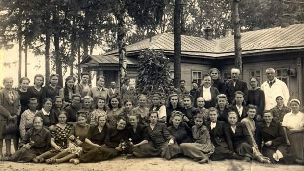 Госпиталь в Пучеже. 1941-1945