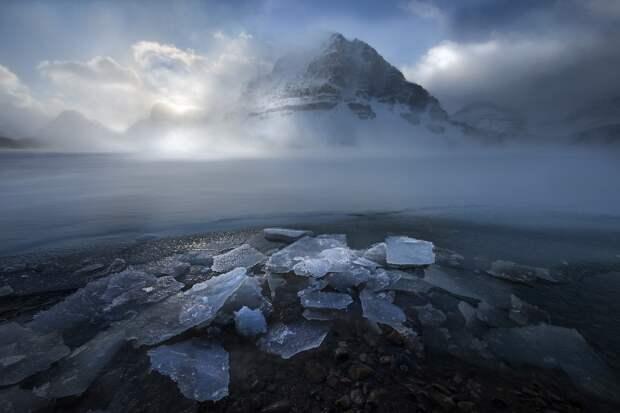Дыхание планеты на атмосферных тревел-снимках Перри Шелат