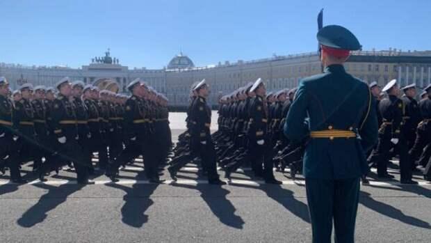 Как Санкт-Петербург встретил День Победы