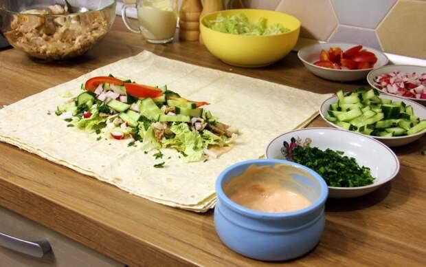 Особая шаурма Константина Ивлева: какой секретный ингредиент добавляет повар