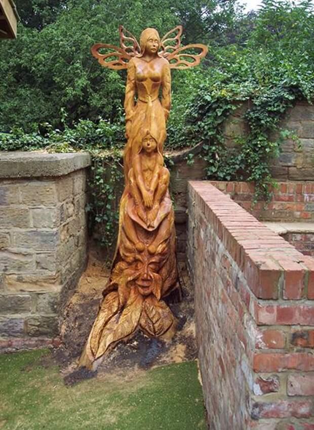 As belas esculturas de madeira de Tommy Craggs | Marte é para os Fracos