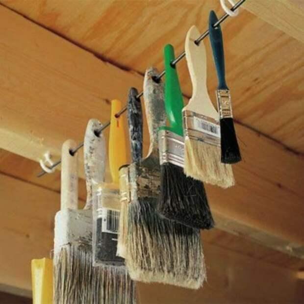 Хранение в кладовке, мастерской и гараже (подборка)