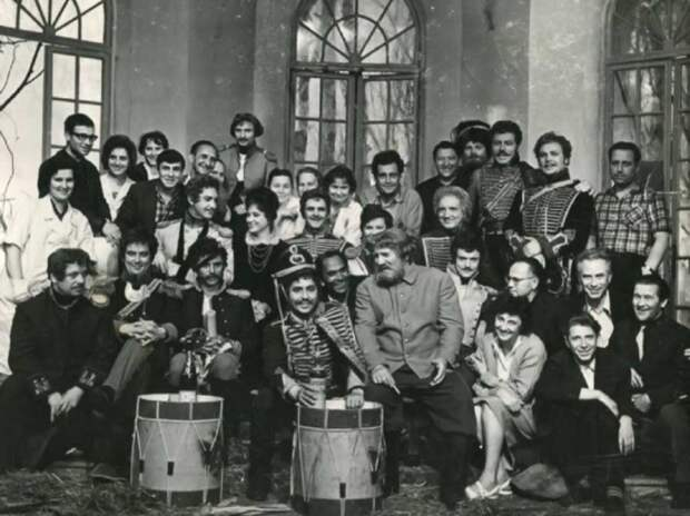 Советское кино: на съемочной площадке