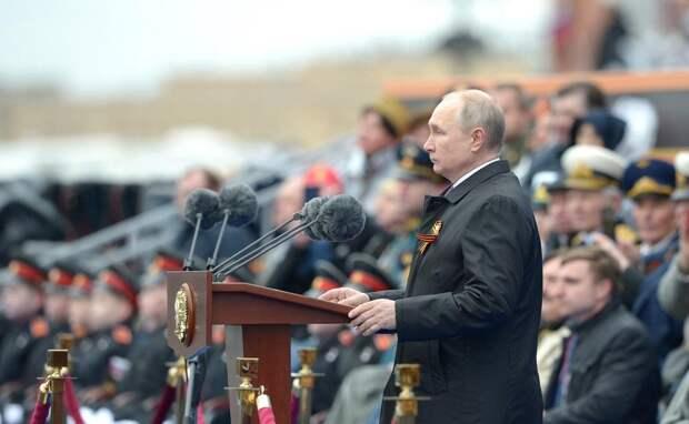 Во время парада Победы Путин раскрыл главного союзника РФ