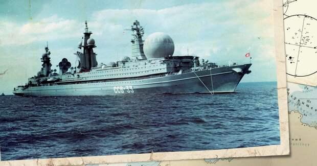 Самый большой атомный корабль СССР