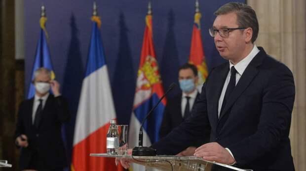 Президент Сербии назвал международное право мертвым