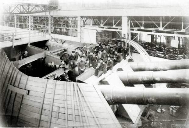 Тяжелые морские артсистемы России и Германии эпохи Первой мировой: работа над ошибками