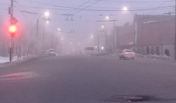 Погода в Оренбургской области неблагоприятна для движения транспорта