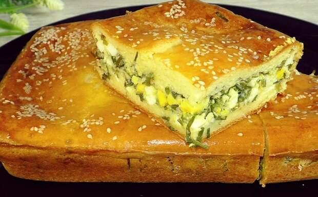 Бабушка из деревни научила готовить вкусный ЗАЛИВНОЙ пирог вместо пирожков