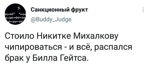 твит про Михалкова