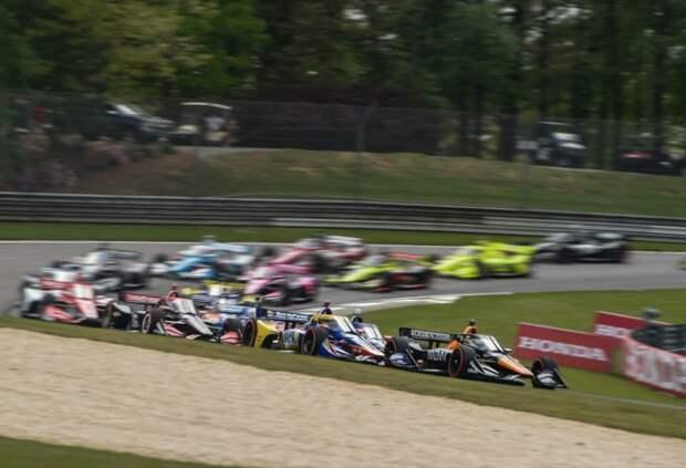 Алекс Палоу выиграл Гран При Алабамы IndyCar, Ромен Грожан финишировал 10-м