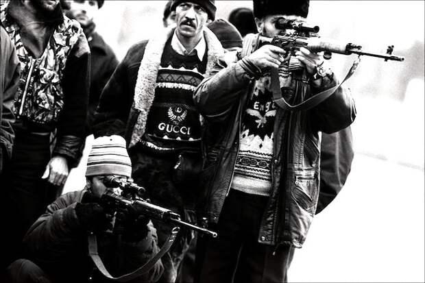 Чеченская мафия 90-ых.