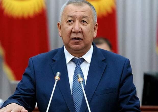 Премьер Киргизии ушел в отставку