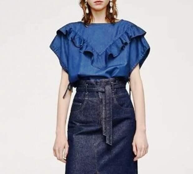 Не только джинсы — 7 вещей из денима, которые будут в моде в 2018 году