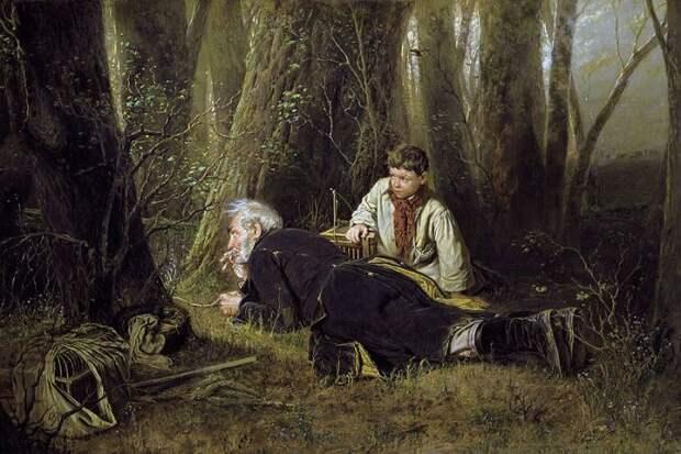 В. Перов. Птицелов, 1870 | Фото: gallerix.ru