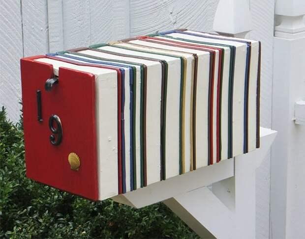 18. вот это да!, креатив на улице, креатив умельцы, наши руки не для скуки, необычное в обычном, почтовые ящики, почтовый ящик, смелое решение