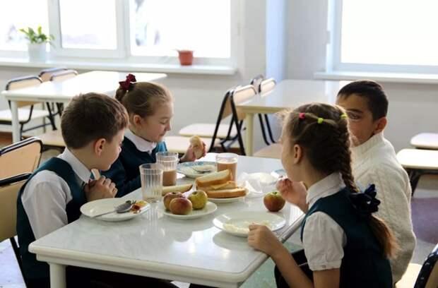 Российских младшеклассников обеспечили бесплатным питанием
