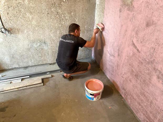 Нужно ли наносить   бетонконтакт на стены ⁉️