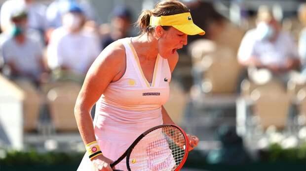 Павлюченкова обыграла Рыбакину и впервые в карьере вышла в полуфинал турниров Большого шлема
