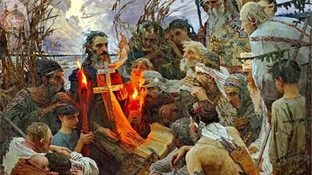 Сыновья князя-язычника Святослава: братья-христиане?