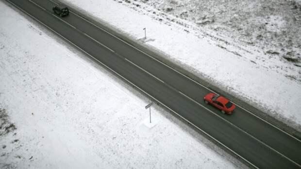 Казахстан закрыл проезд по дороге к участку границы с Россией из-за бурана