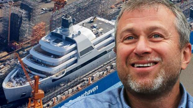Новая яхта Абрамовича стоит 44,7 миллиарда рублей: первые фото