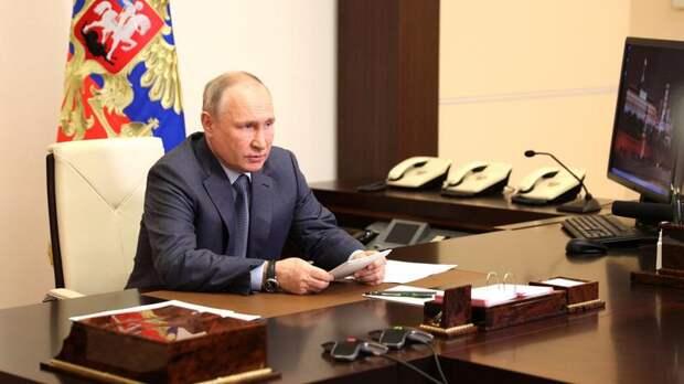 Путин наградил Беглова орденом «За заслуги перед Отечеством» II степени