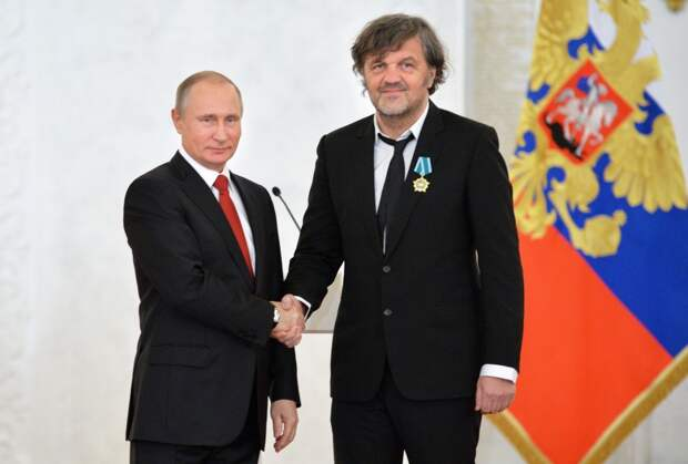 Кустурица: Путин — хороший человек, несмотря на мнение Запада о нём