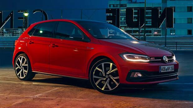 Volkswagen рассекретил облик «заряженного» Polo GTI