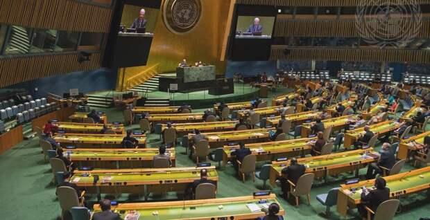 ООН приняла резолюцию о нарушениях прав человека в Крыму