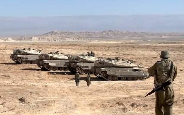 Израиль готов к наземной операции в Газе: танки и артиллерия стянуты к границе анклава