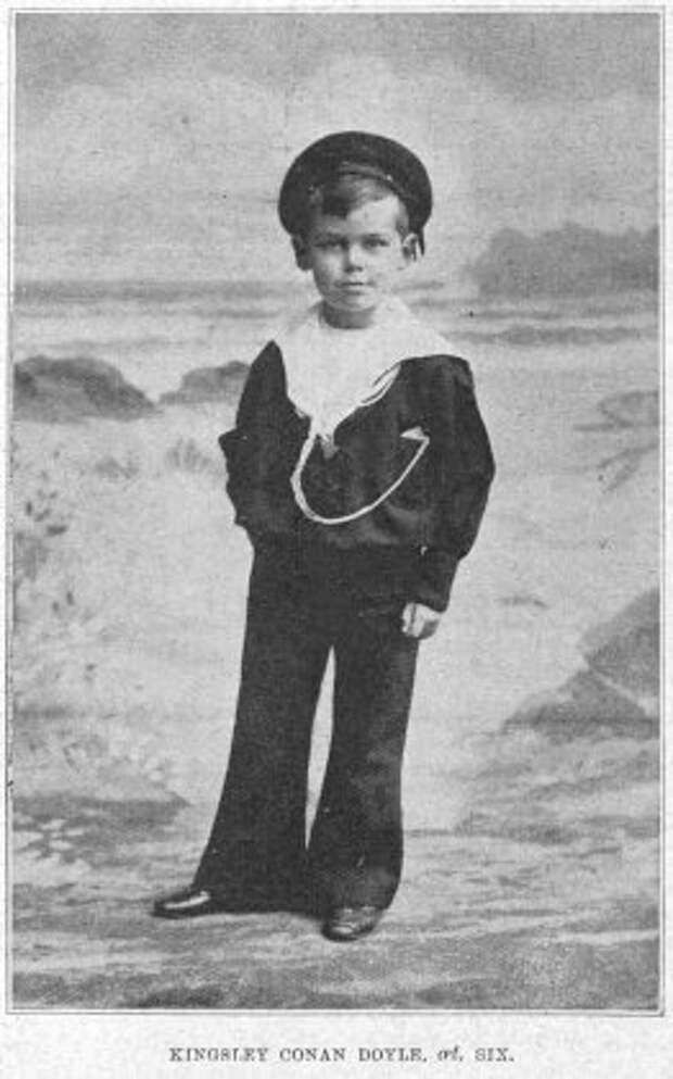 Кингсли в 1899 году (7 лет).